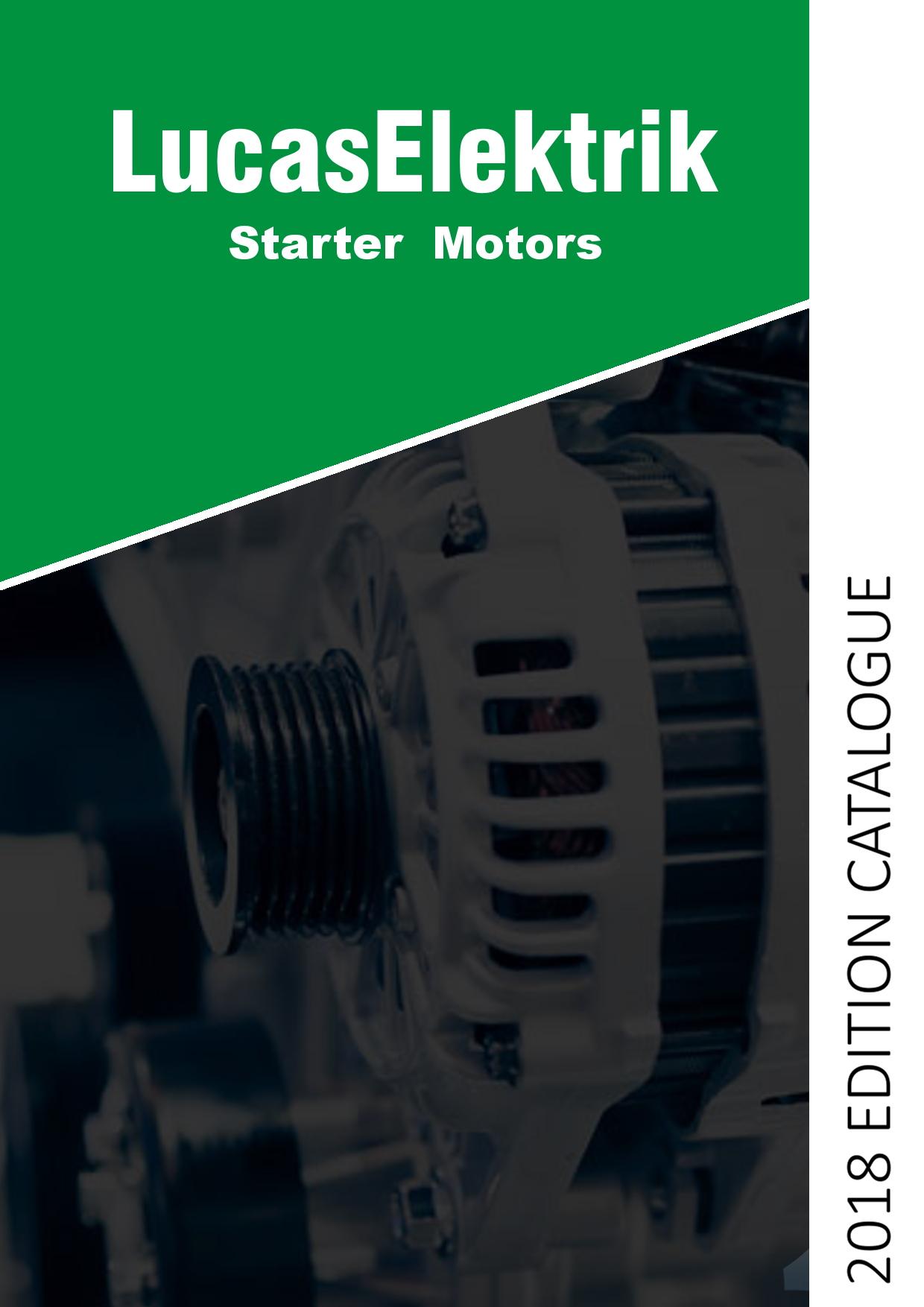 Lucas Starter Catalogue Cover