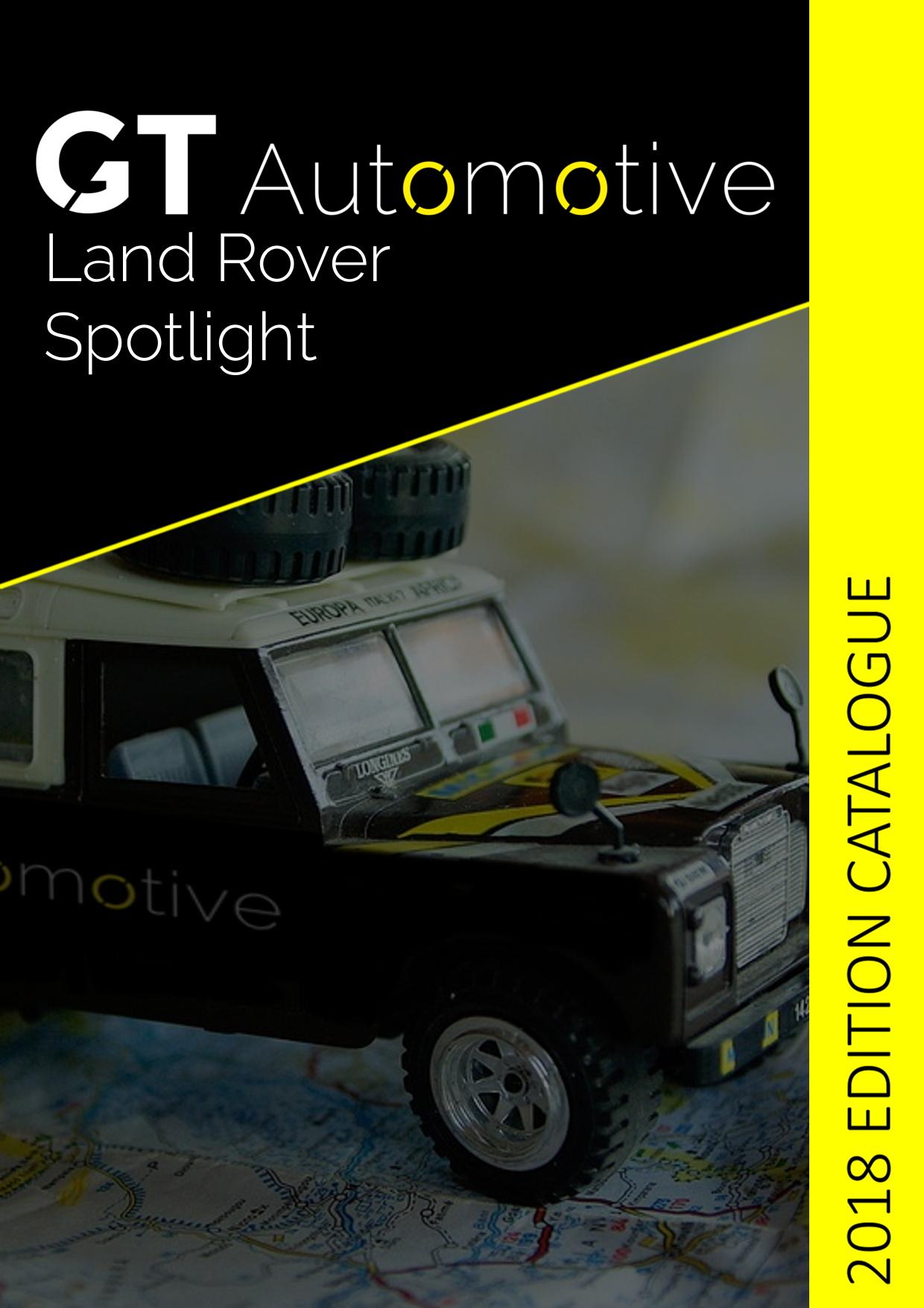 gt automotive land rover spotlight catalogue