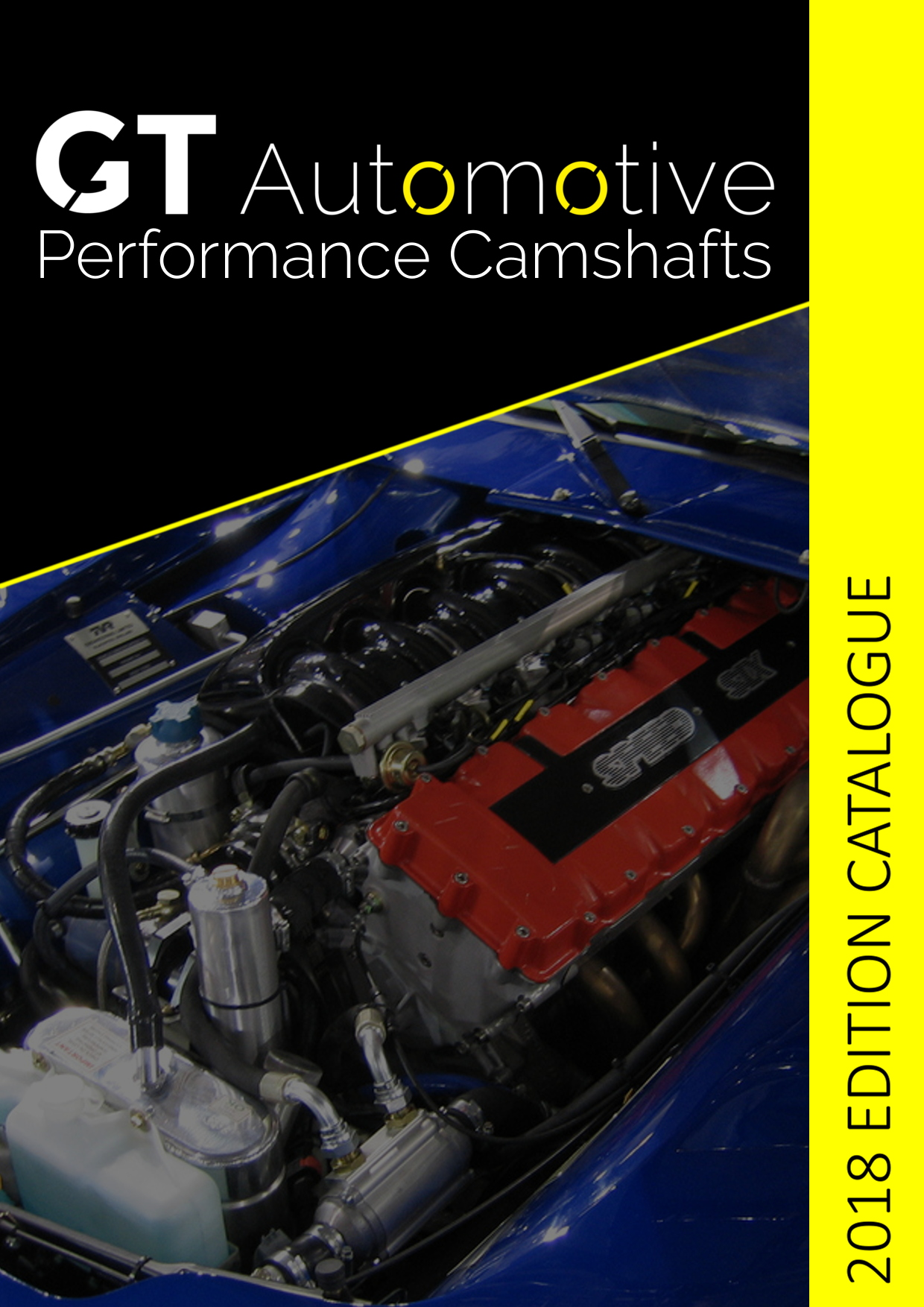 Racing Camshaft Catalogue Cover