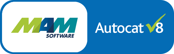 MAM AutoCat software organisation logos